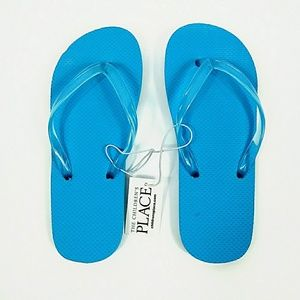 NWT The Children's Place Turquoise Sandals Sz 1-2
